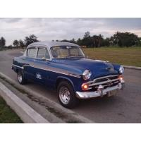 Alquiler/Renta de auto clásico con chofer (climatizado)