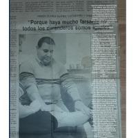 Esta fue una entrevista que me han hecho hace un tiempo atrás en un conocido y famoso periódico español