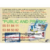PUBLIC AND PROMO PUBLICA ANUNCIOS EN REVOLICO LOS 7 DÍAS DE LA SEMANA LLÁMENOS.