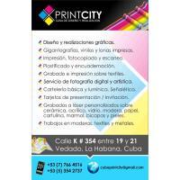 PRINTCITY CUBA Casa de Diseño y Realizacion