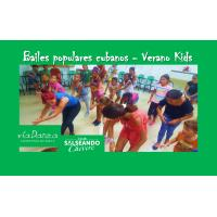talleres de Bailes populares cubanos - Verano Kids
