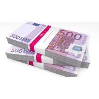Eu coloquei a sua disposição um empréstimo de 5000 € para 500. 000 €