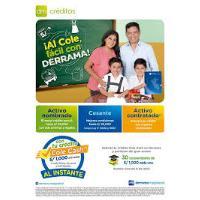 """CON """"Crédito escolar"""", BUENA ESCUELA REGRESE A SUS HIJOS §"""