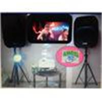 ANGEL DJ. Se rentan equipos de Audio. Luces, Pantallas, Karaoke, para espectaculos y fiestas.