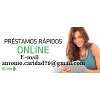 oferta de préstamo rápido y urgente ( antonio.caridad79@gmail.com )