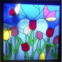 Diseño y elaboración de vitrales