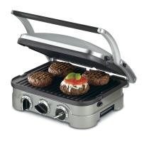 155 cuc plancha y sanwichera Cuisinart Stainless Steel especial para tu negocio