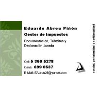 GESTOR Cobrador de Impuestos con licencia y más de cinco años de experiencia en la atención a Cuentapropistas.
