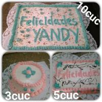 Los mejores cakes y dulces para buffets, cumpleaños y ocasiones especiales!!!!!! Alina y Jorge