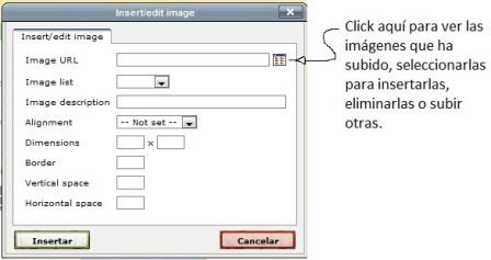 subir imagenes a su sitio primera ventana