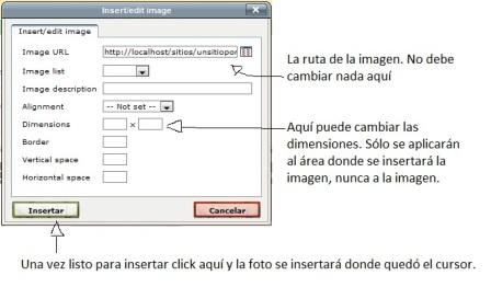 insertar la imagen al servidor