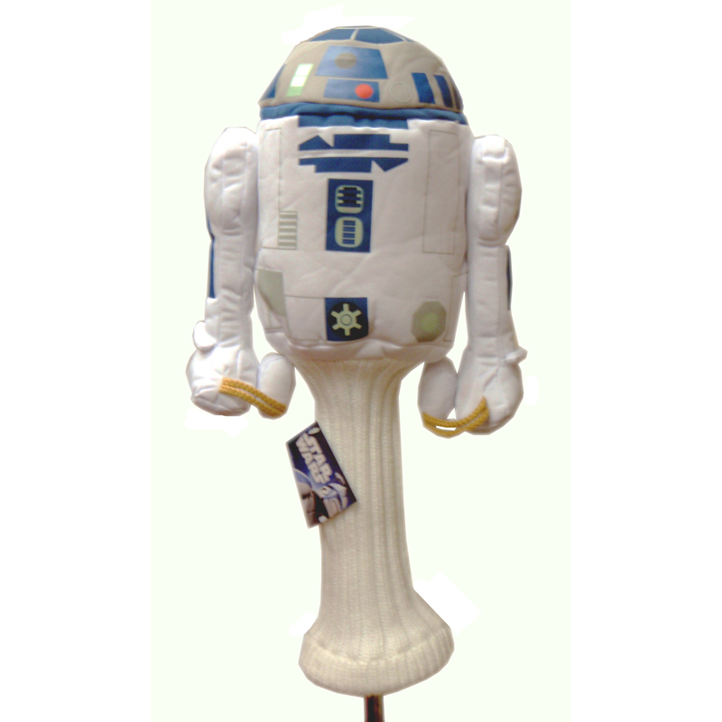 Golf Head Cover Star Wars R2D2 460cc Driver Wood Sporting Goods Head Cover Accessory