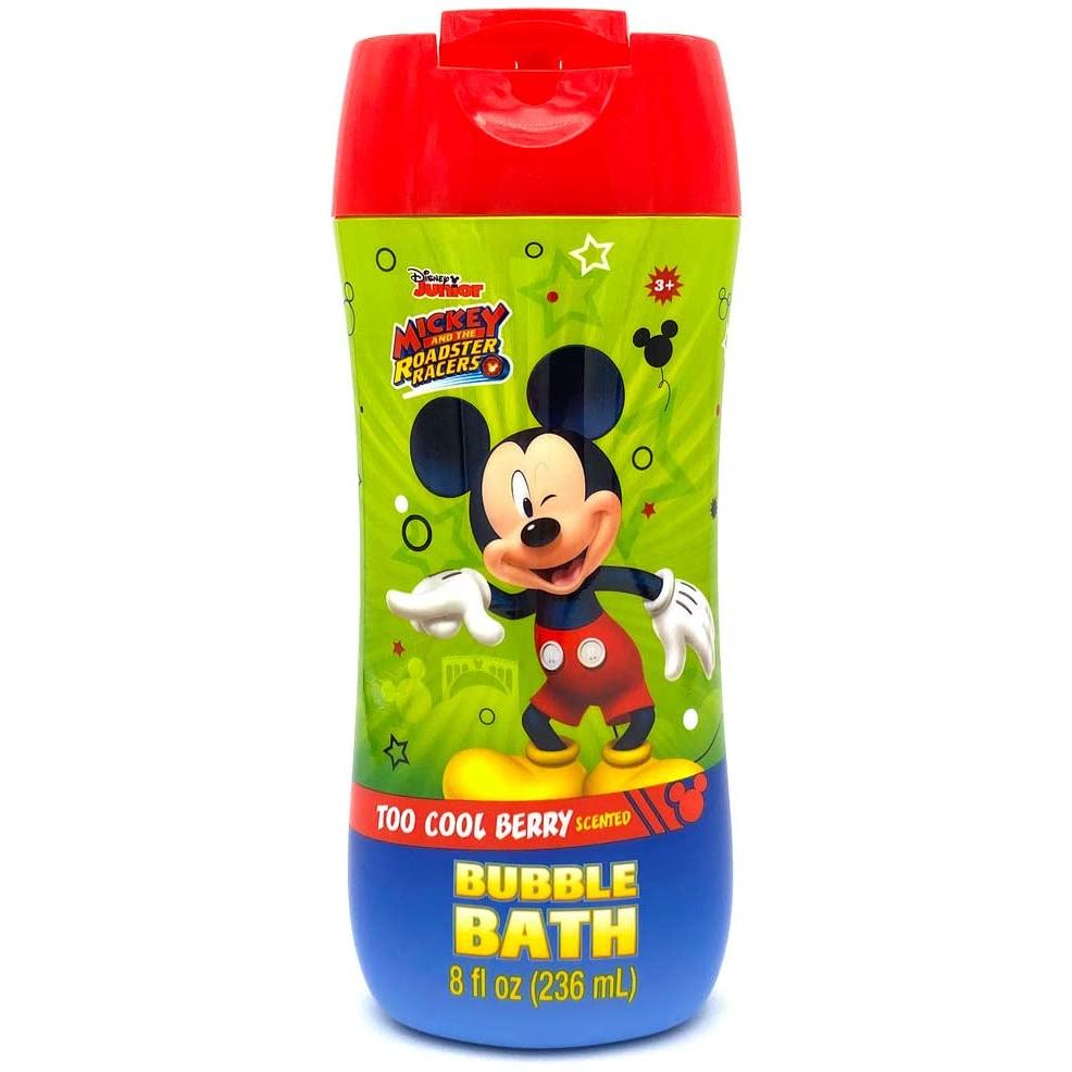 8 oz Bubble Bath Botyle Disney Mikcey Mouse Too Cool Berry
