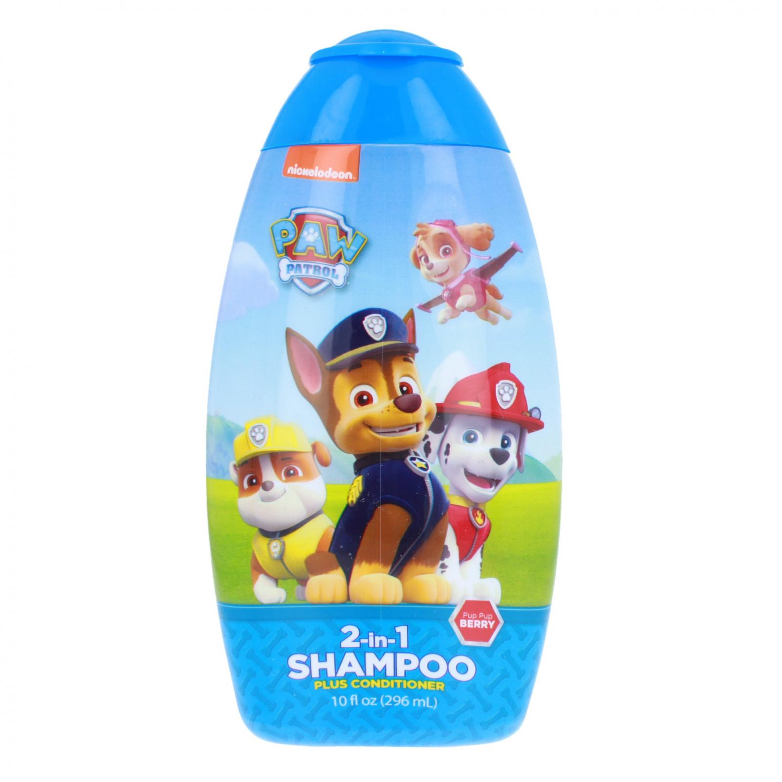 Paw Patrol Childrens 2 in 1 Shampoo Conditioner 10oz Bottle