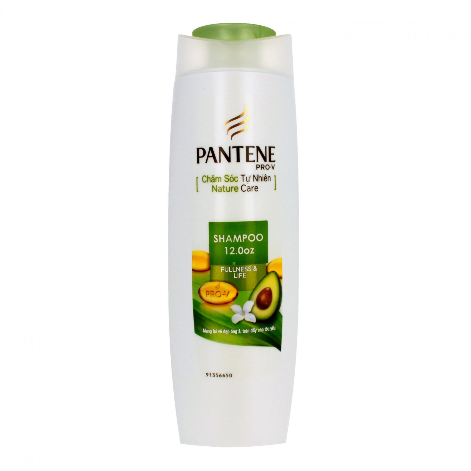 Pantene Pro-V Fullness and Life Womens Shampoo 12oz Bottle