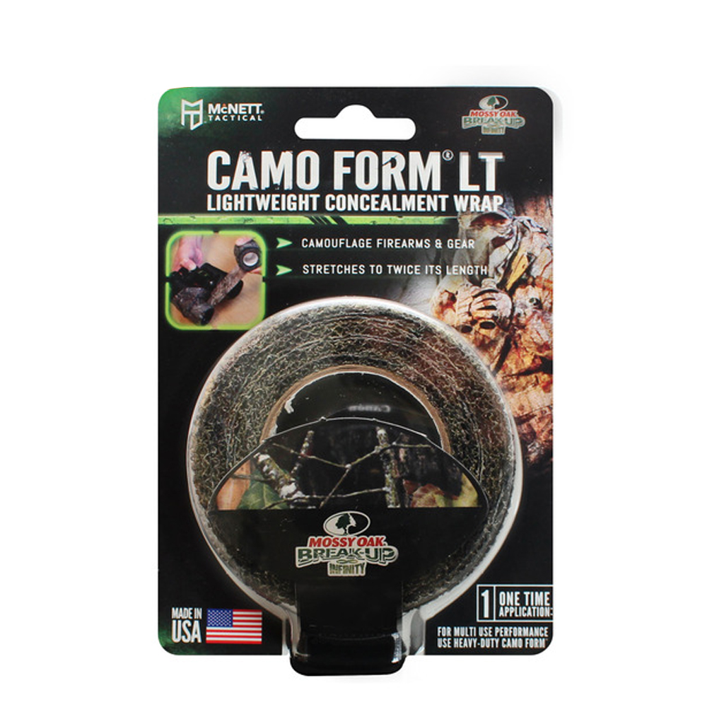 Tactical Camo Form LT Lightweight Self-Cling Concealment Wrap - Infinity Break Up