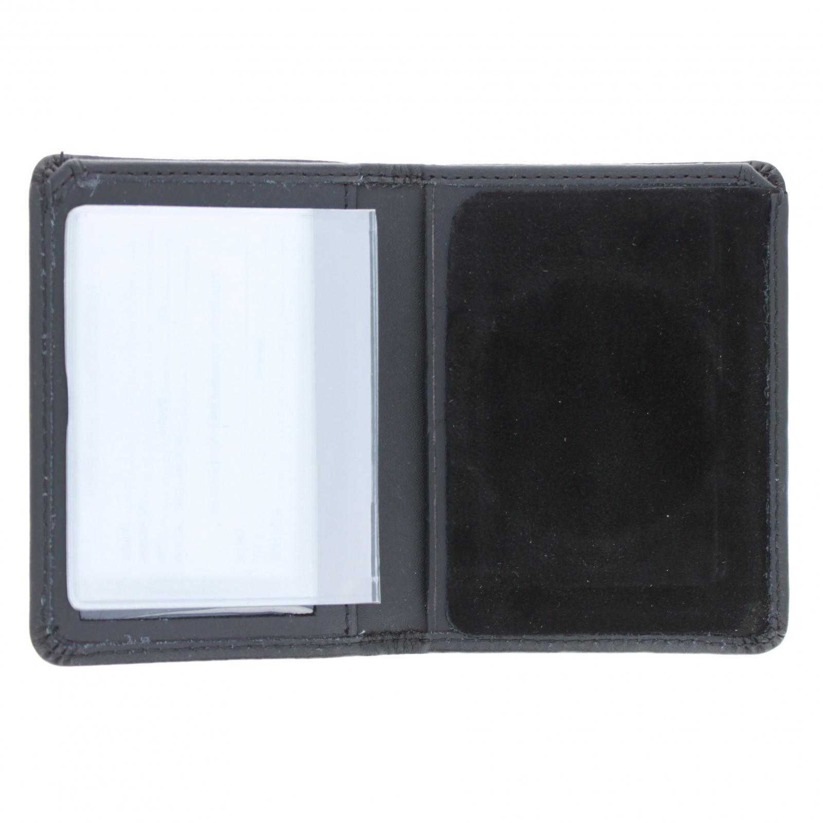 Law Enforcement Badge Wallet Bill Fold Round Shape