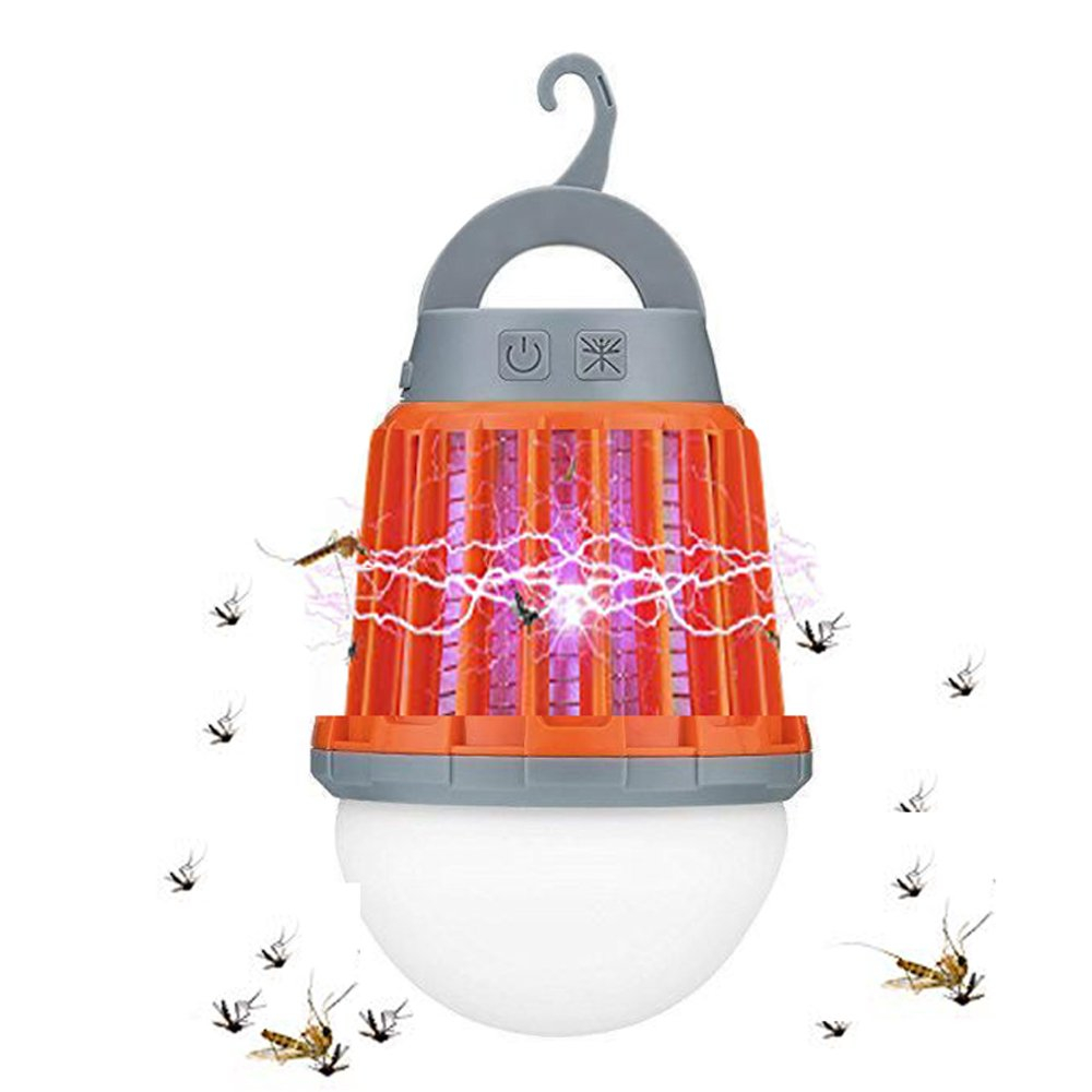 Water Proof Rechargeable 36O Bug Zapper Lantern 1W