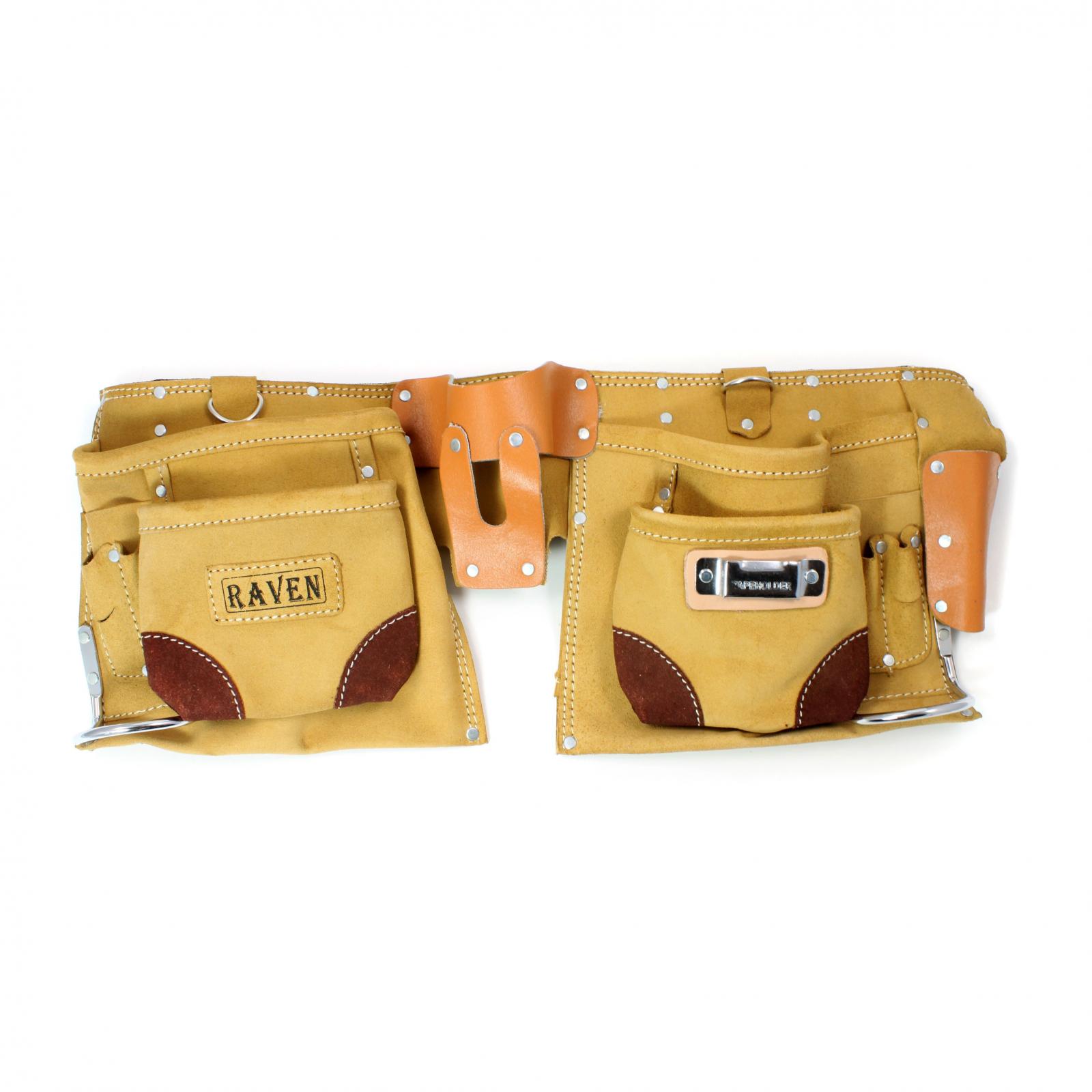 Deluxe Tool Belt 12 Pocket Carpenters Storage