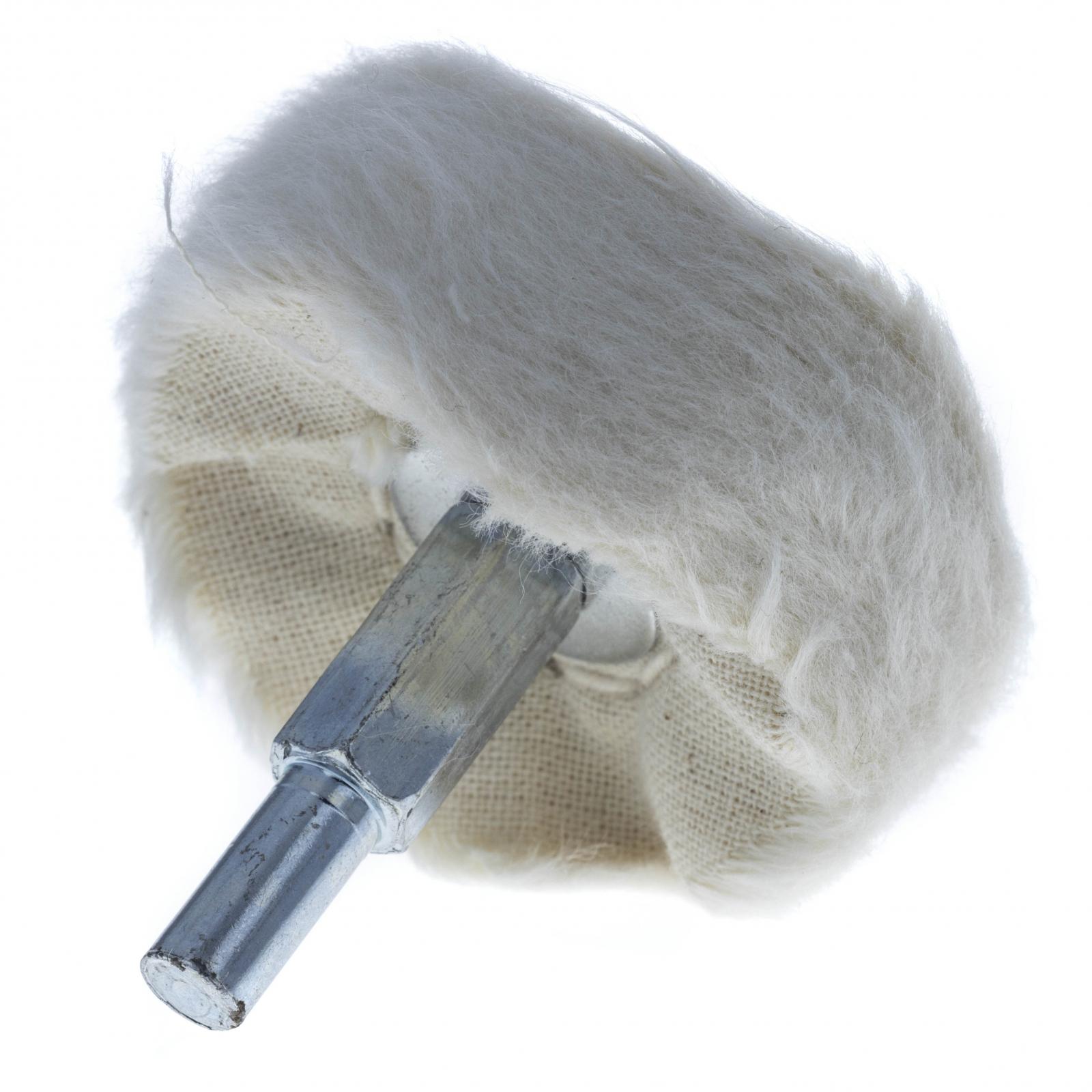 Universal Tool Cloth Polishing Buff Wheel 2 Inch Diameter Soft Muslin