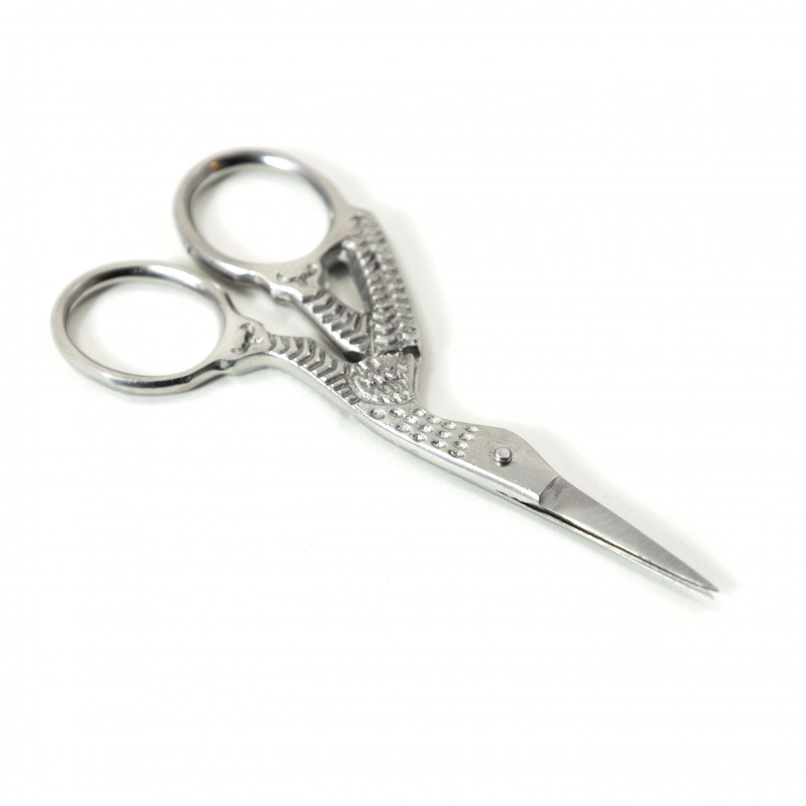 3.5 Inch Sharp Tip Stork Stainless Steel Tailors Scissors