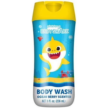 Baby Shark Ocean Berry Scented Body Wash 8 OZ Bottle