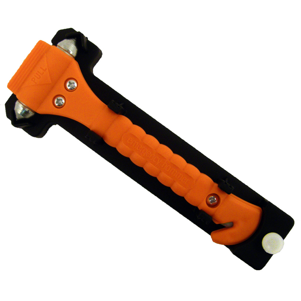 Universal Emergency Hammer Window Punch and Seat Belt Cutter Car Tools 4 Pack