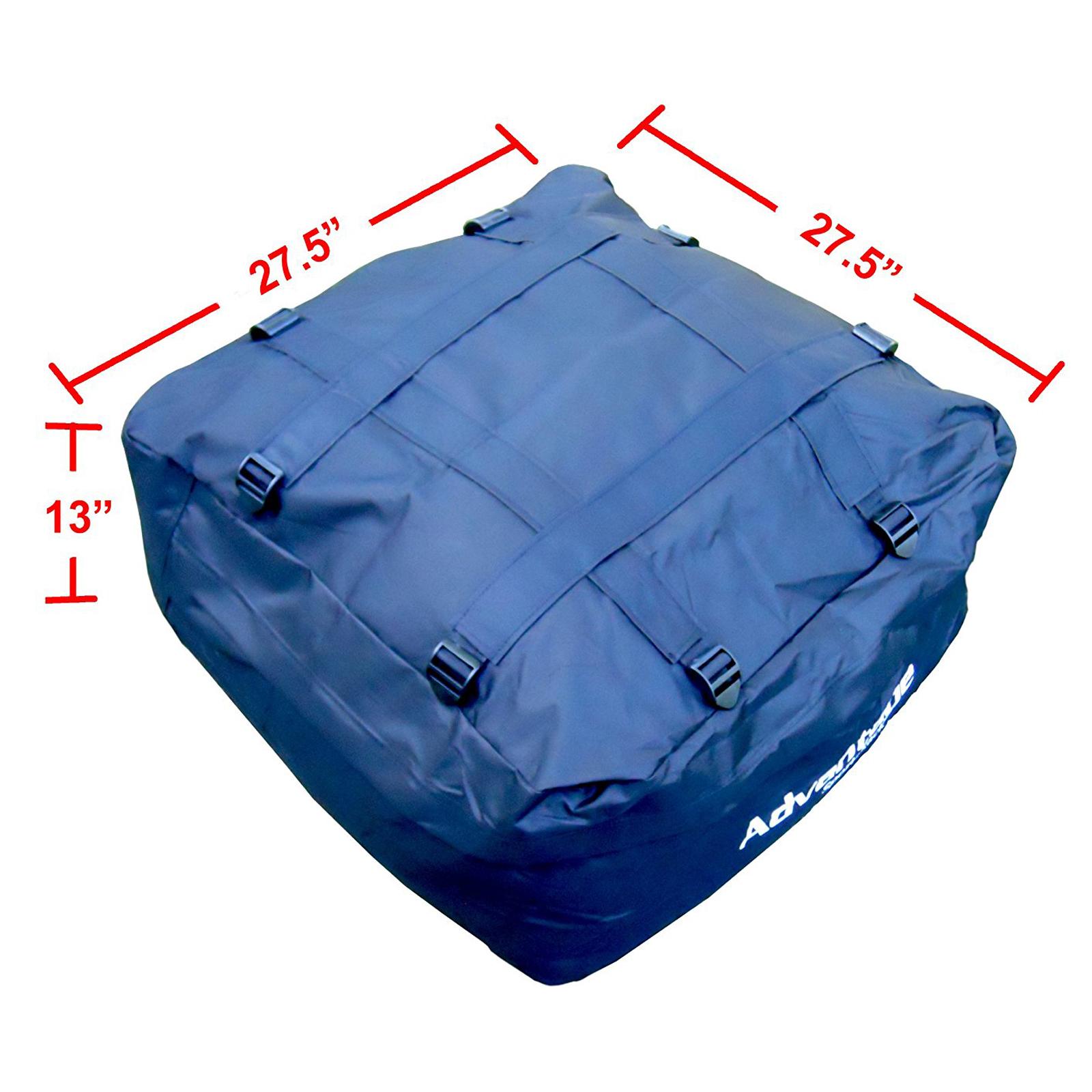 Advantage SportsRack SofTop Weather Resistant Roof Cargo Bag 6 Cubic Feet