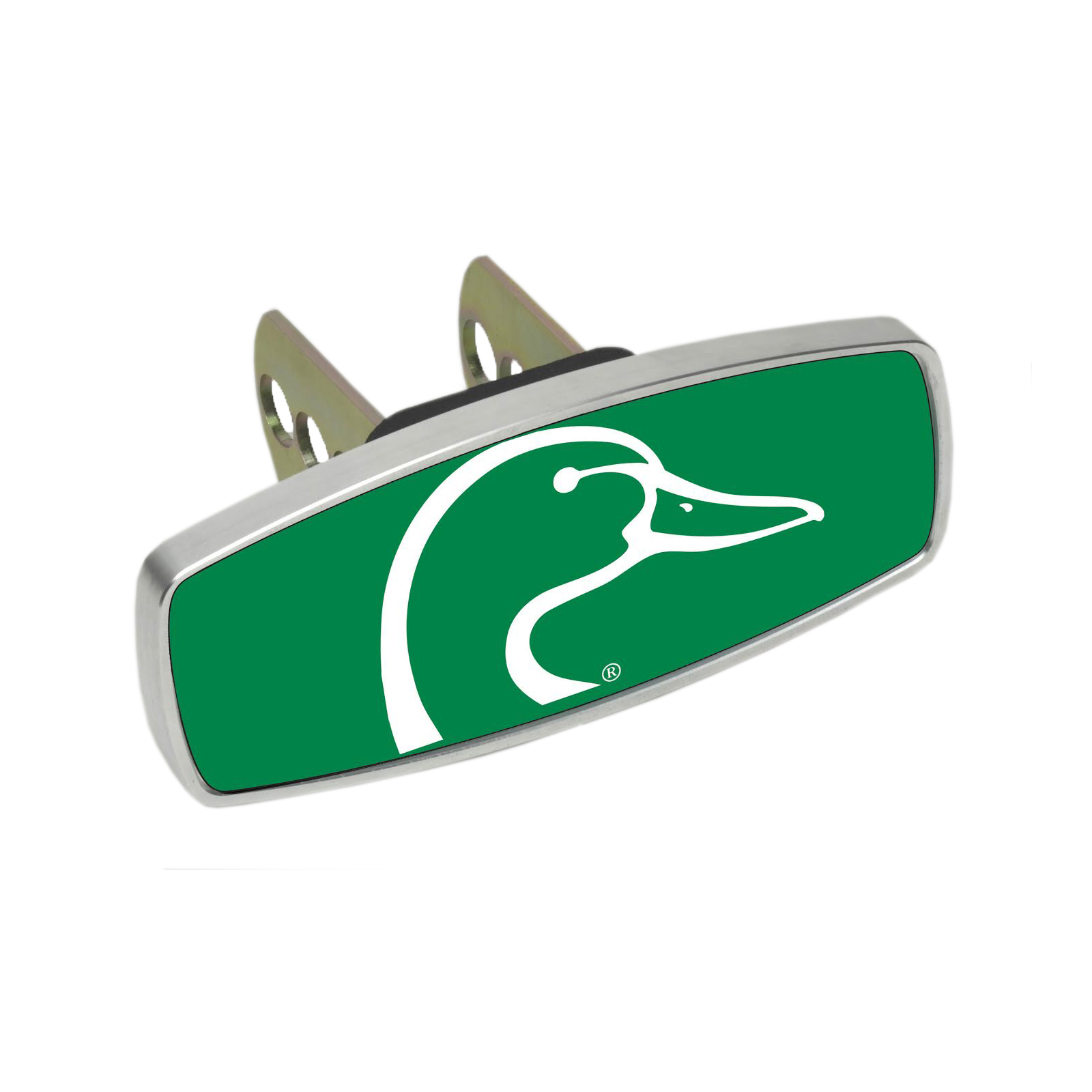 HitchMate Premier Series Hitch Cap Cover - Duck Head Green