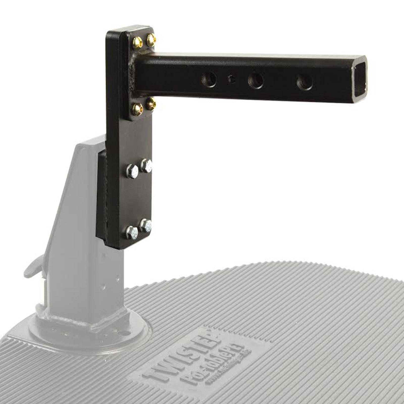 Heininger Automotive PortablePet Twistep Extension Bracket 3053 Add Clearance
