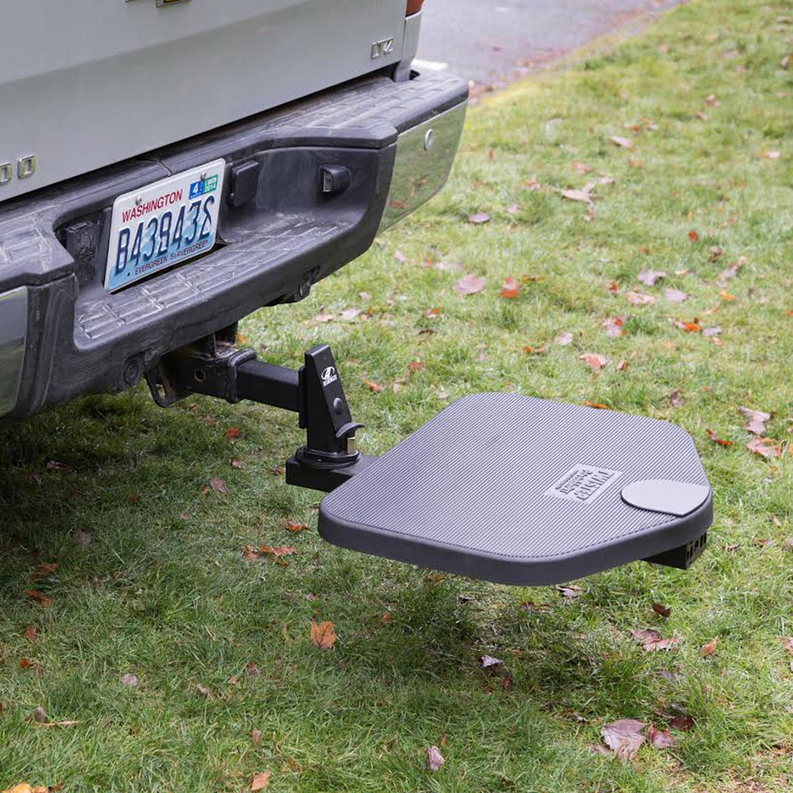 Heininger PortablePet Automotive TwiStep Pet Step for Pickup Trucks Exterior