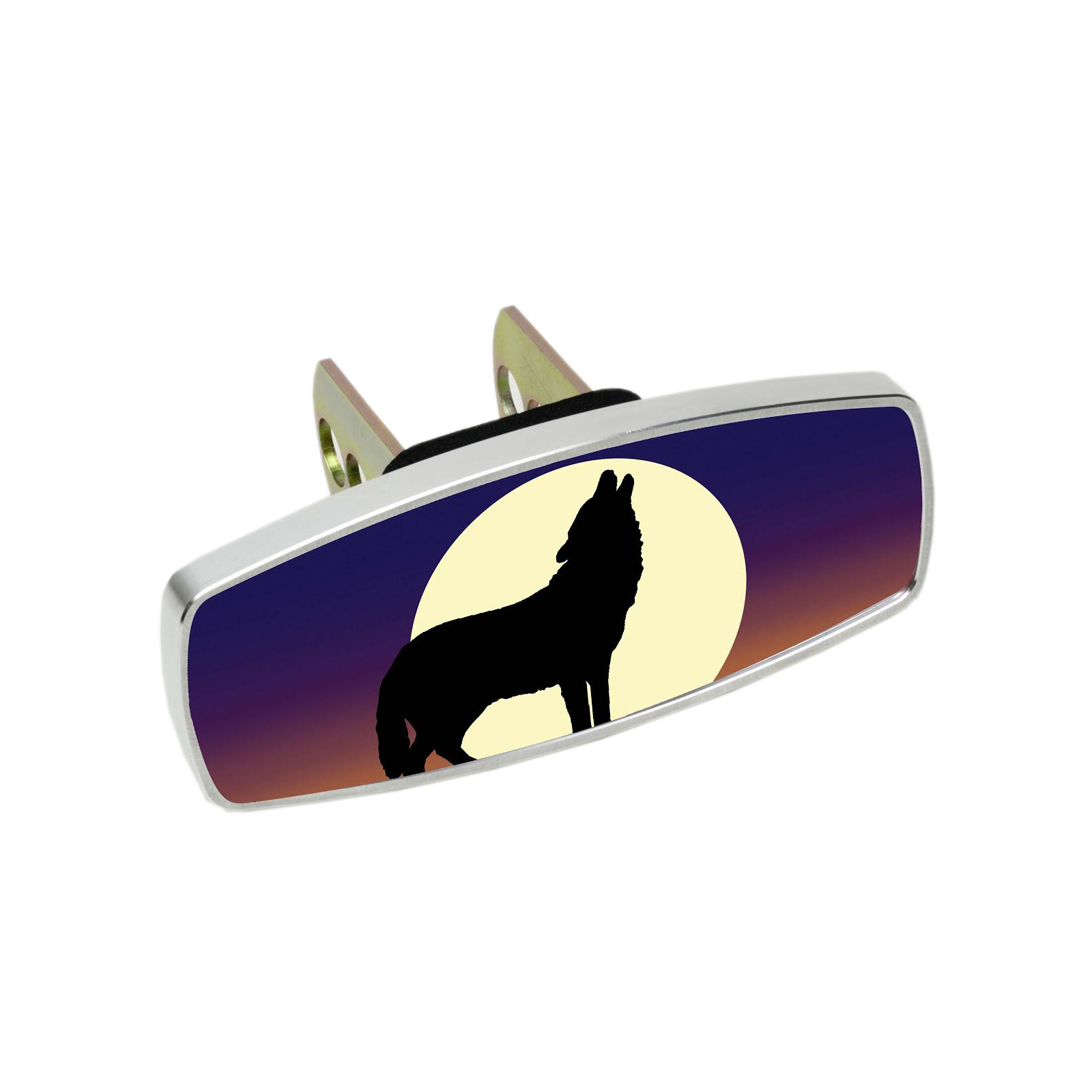HitchMate Premier Series Hitch Cap Cover - Wolf