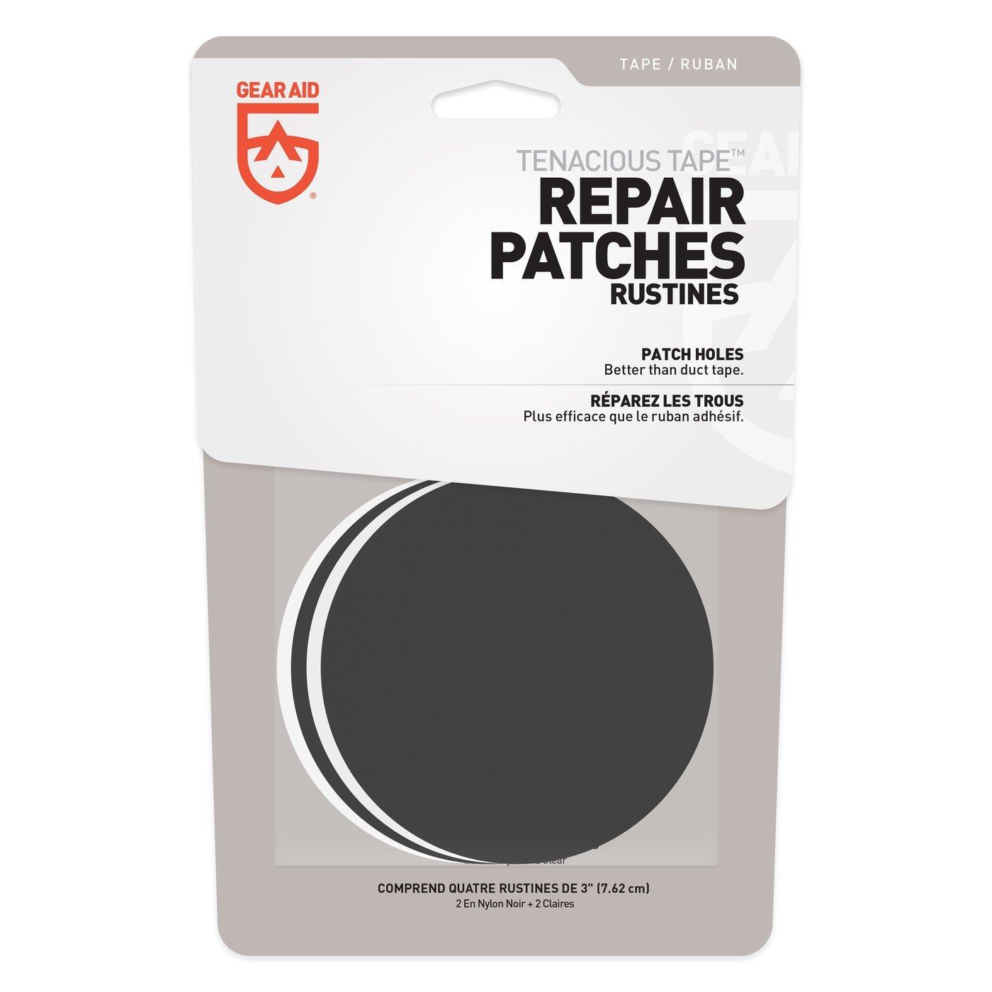 Tenacious Tape 4pc Repair Patches
