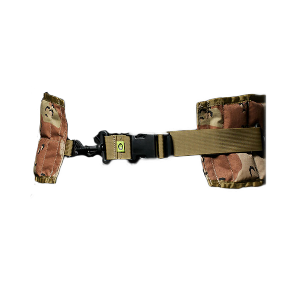 Body Bag Belt Rear Shooting Bag System Flatline Ops Hiking Travelling