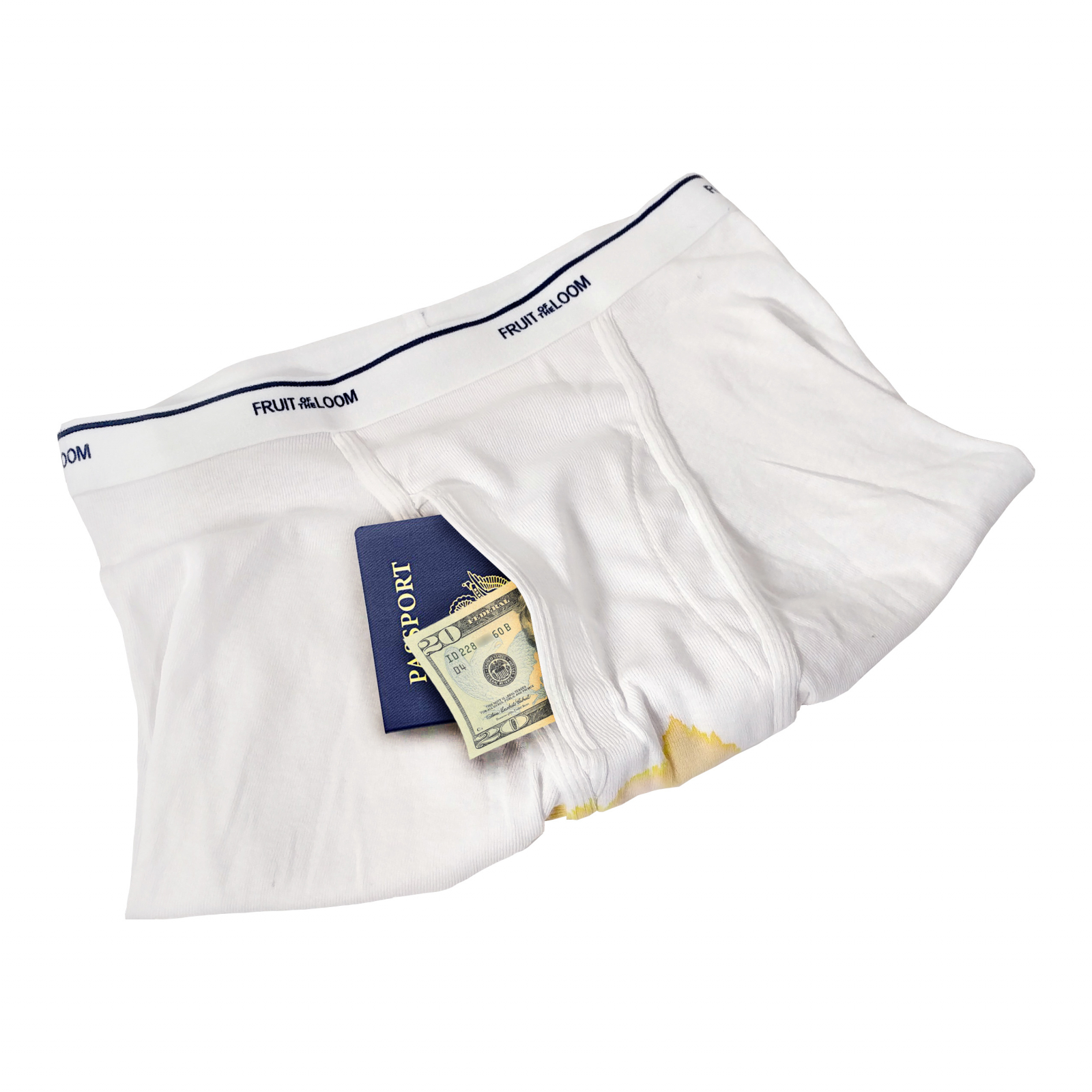 The Boxer Brief Safe Diversion Safe Passport Money Protector