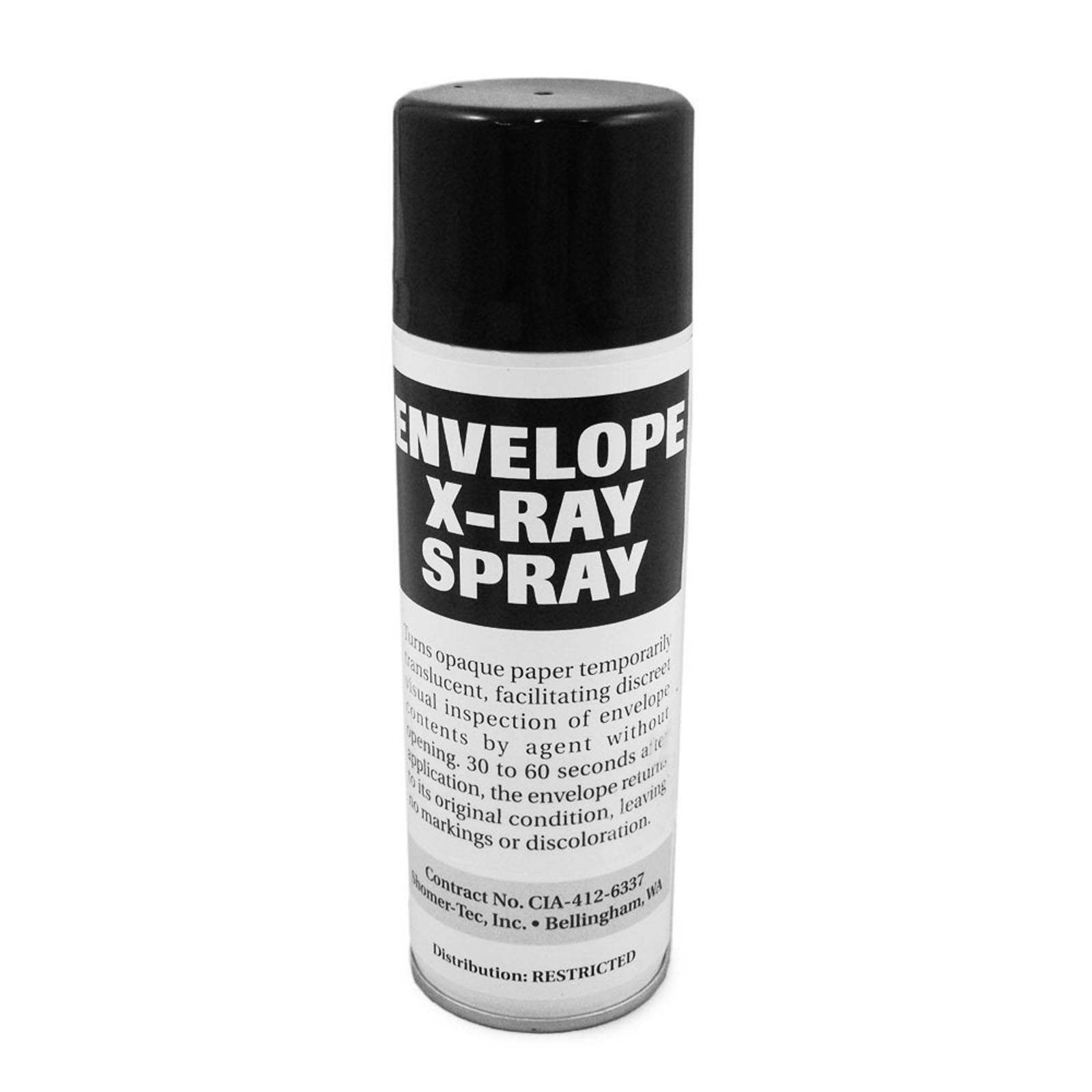 ASR Tactical Envelope X-Ray Spray Covert High Tech Spy Gadget Freon-Free