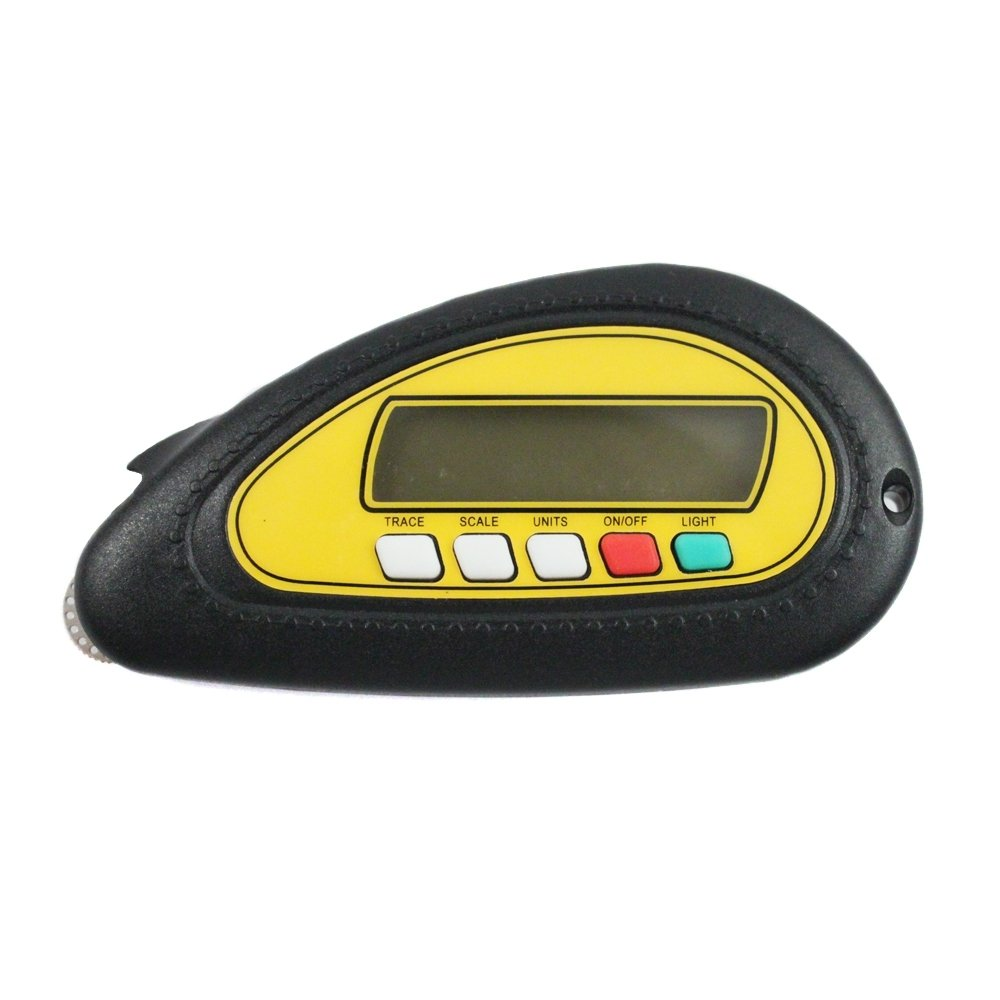 Digital Map Meter Navigational Legend Key Decoder Reader