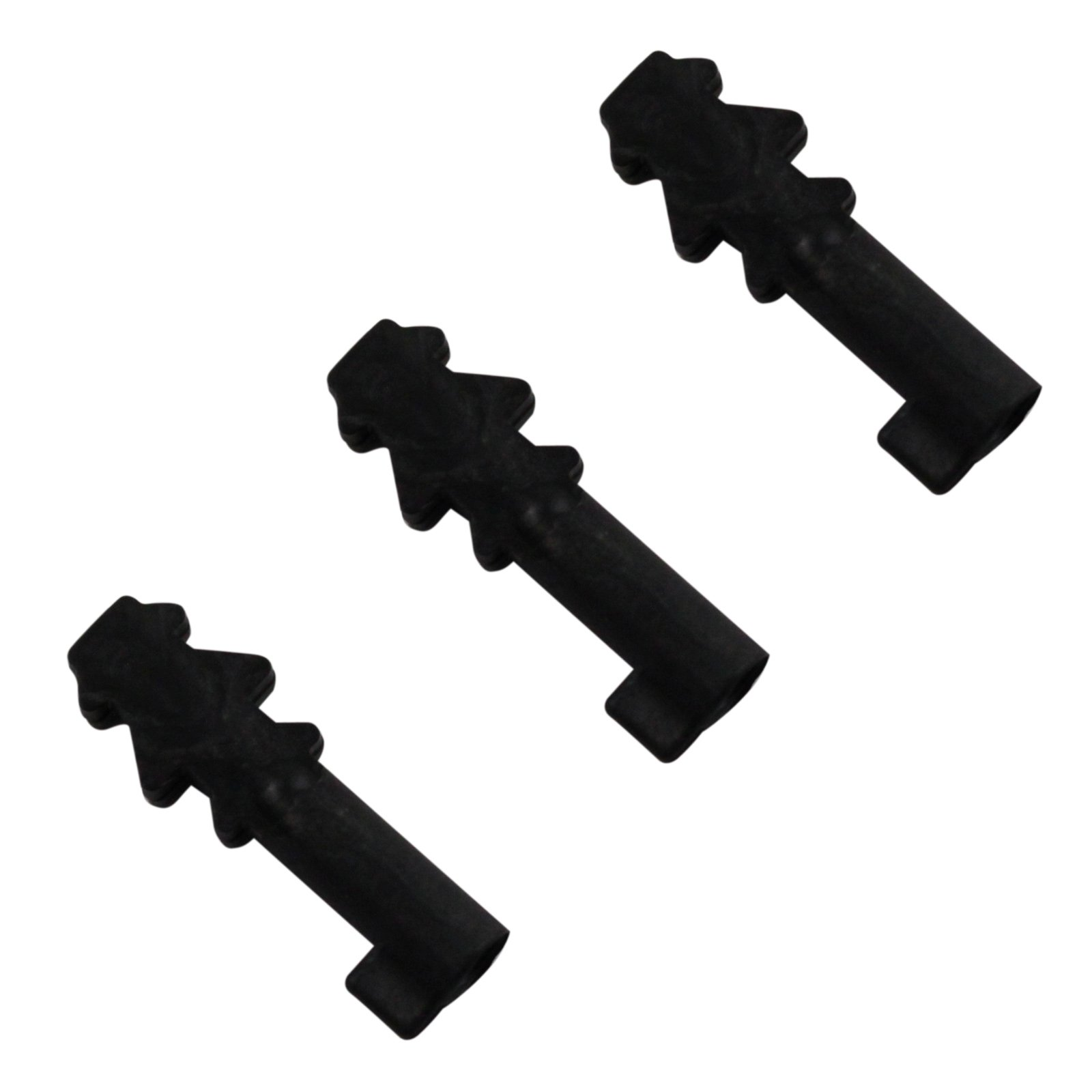 3pk ASR Outdoor Bare Minimum Handcuff Key Non Metallic Escape Tool - Black