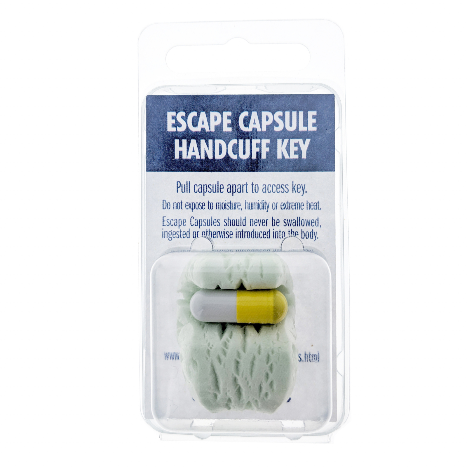 ASR Tactical Escape Capsule Covert Handcuff Key Concealed Survival Prepper Tool