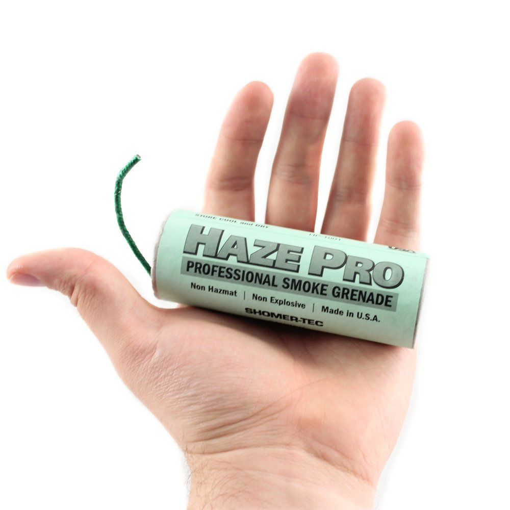 Haze Pro Tactical Smoke Grenade for paintball and airsoft