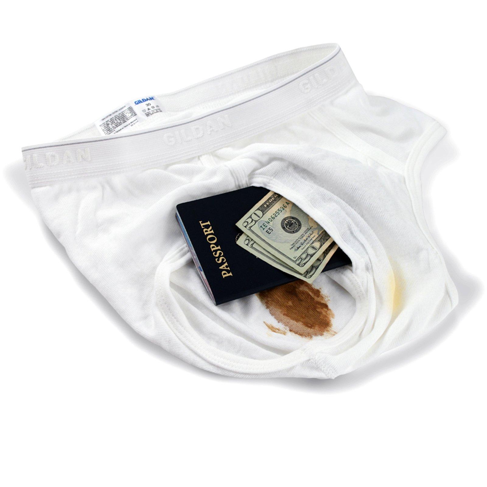Brief Safe Hidden Contents Diversion Safe Travel Underwear