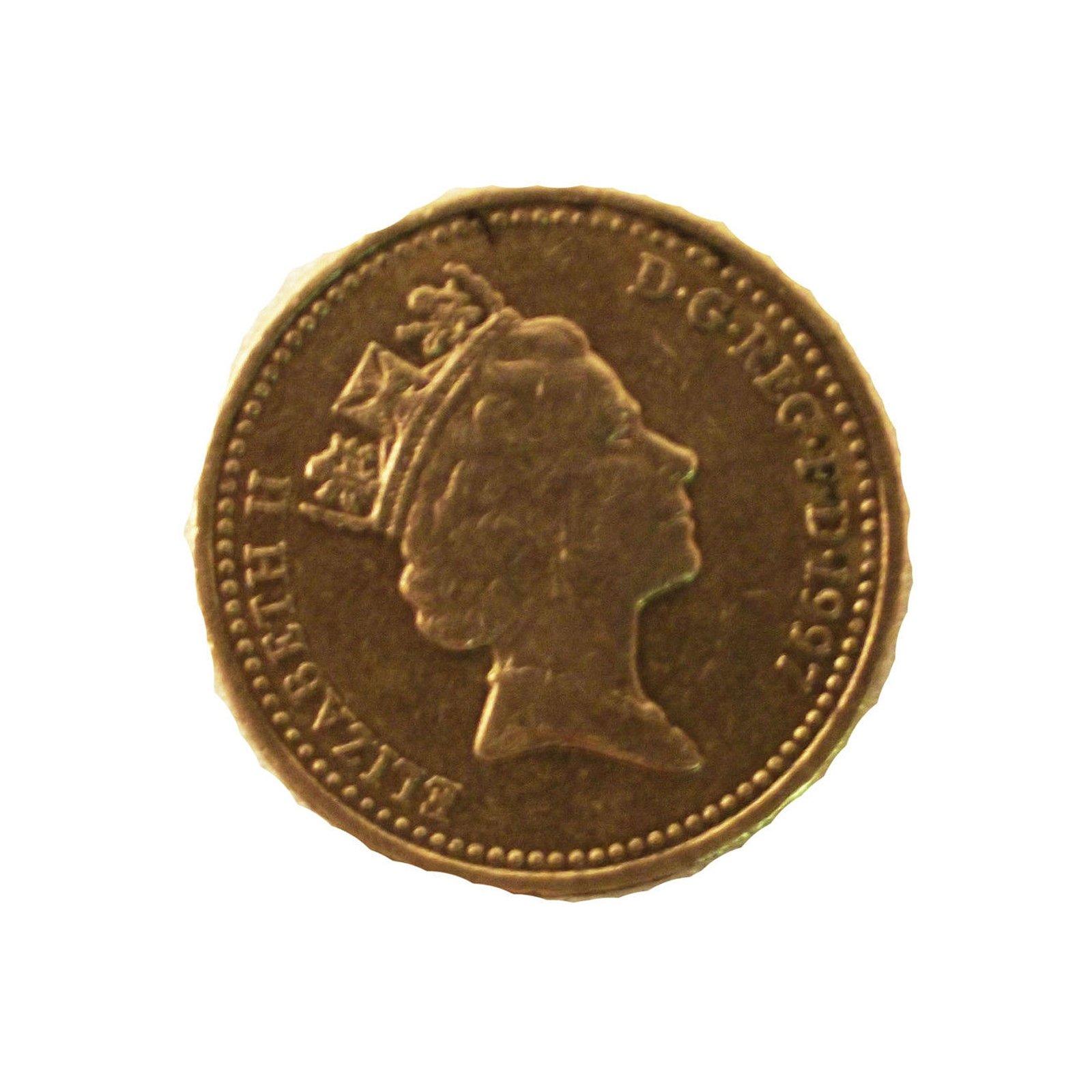 MicroSD Covert Spy Coin Secret Compartment - Authentic British Pound