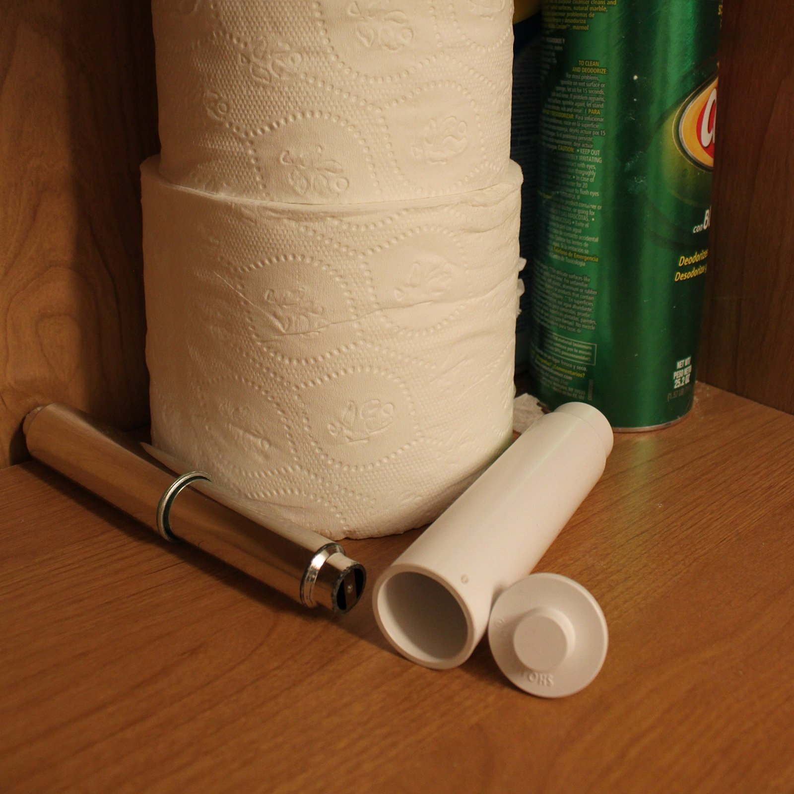 Hidden Contents Hollow Toilet Paper Roll Diversion Safe Property Security Device