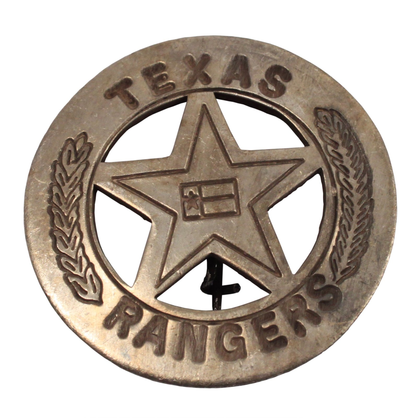 Texas Rangers Star Old West Badge