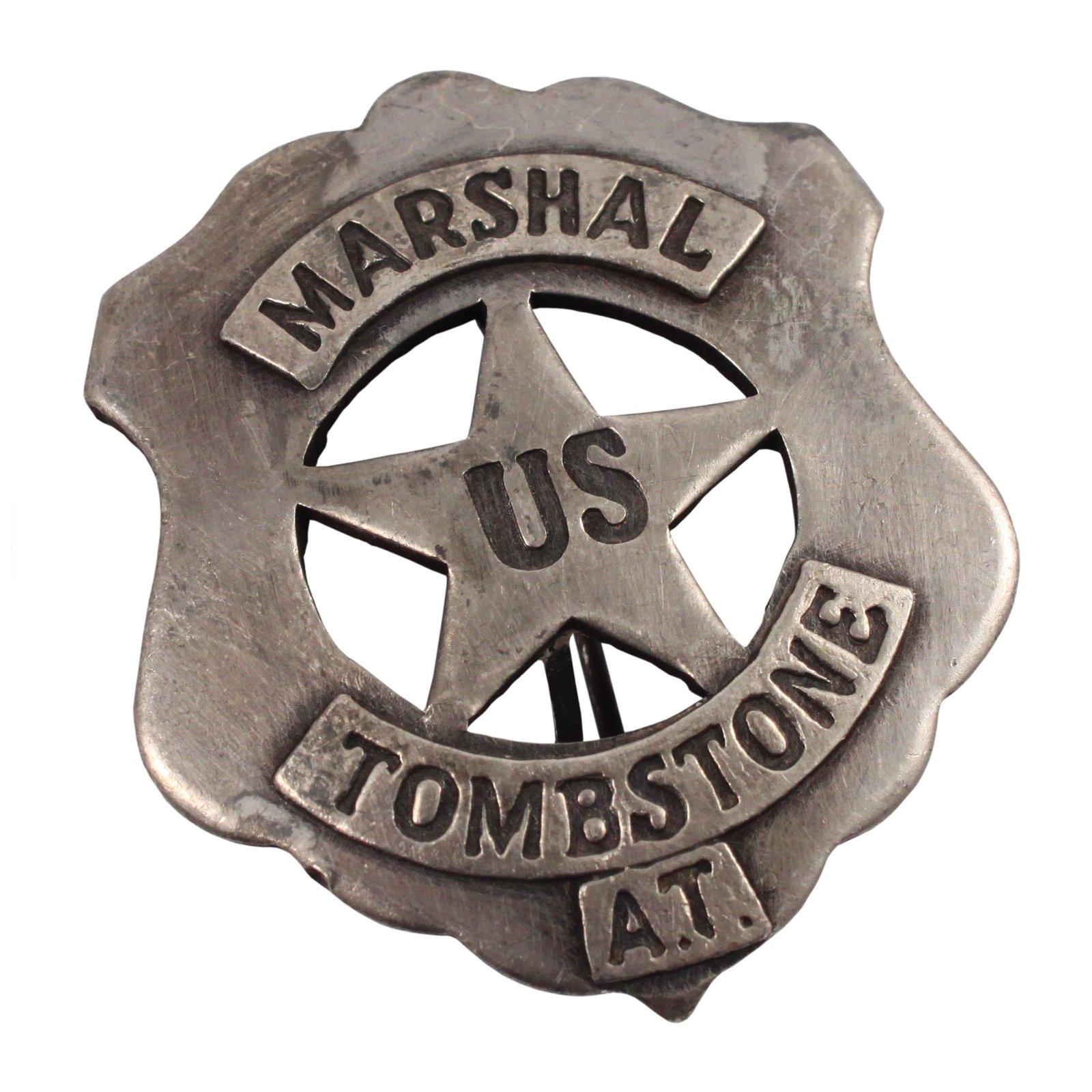 Tombstone United States Marshal Old West Badge