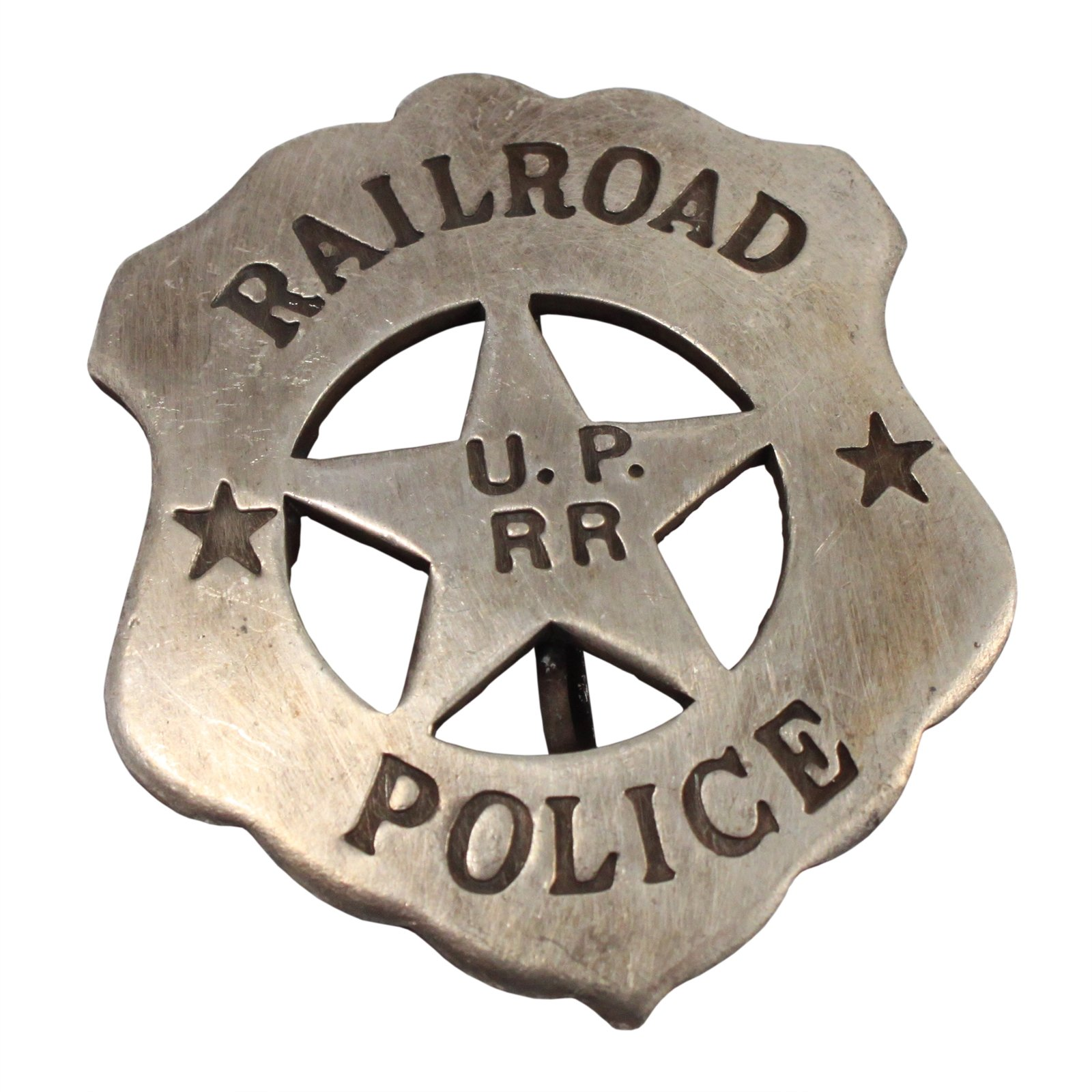 Unioin Pacific Railroad Police Old West Badge