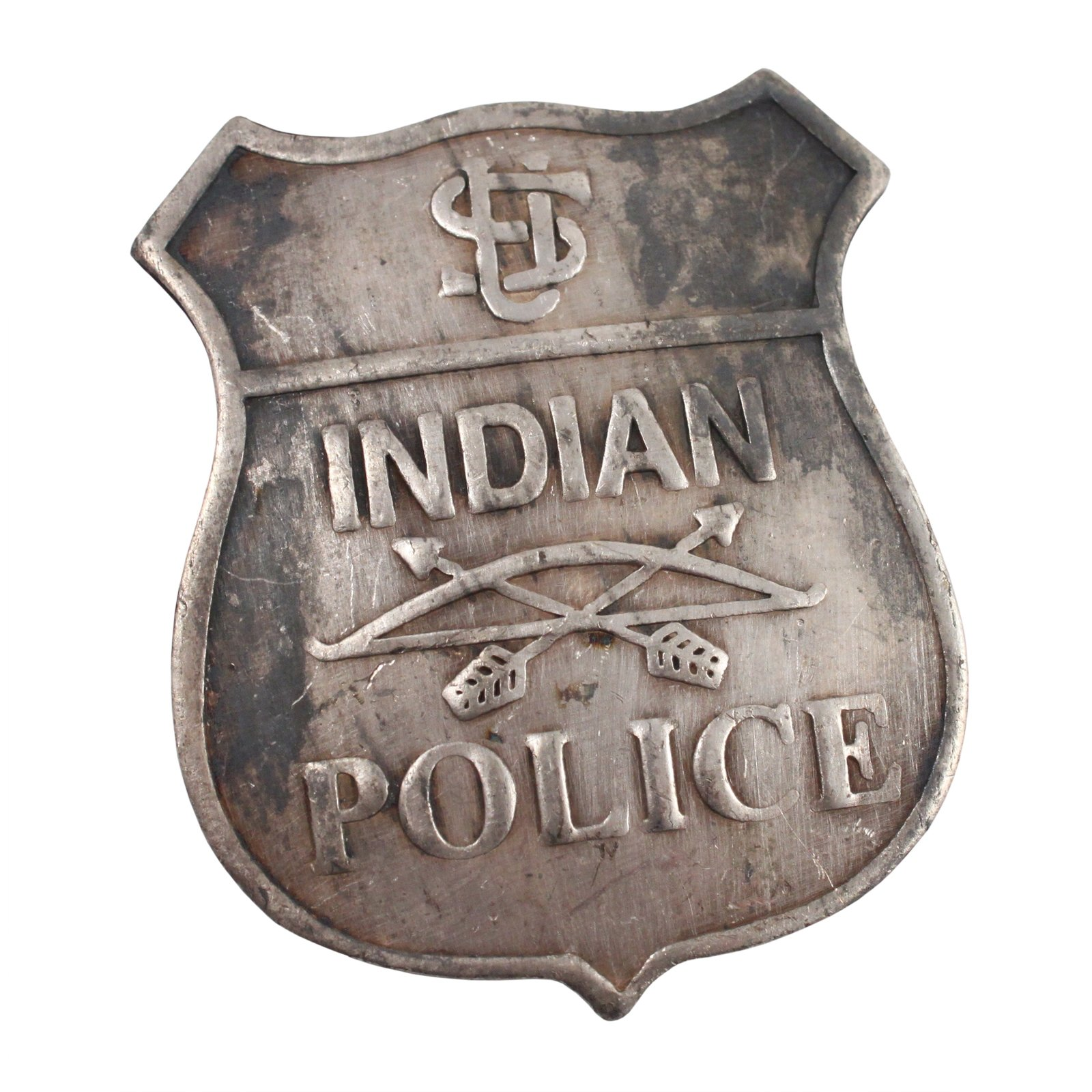 United States Indian Police Old West Badge