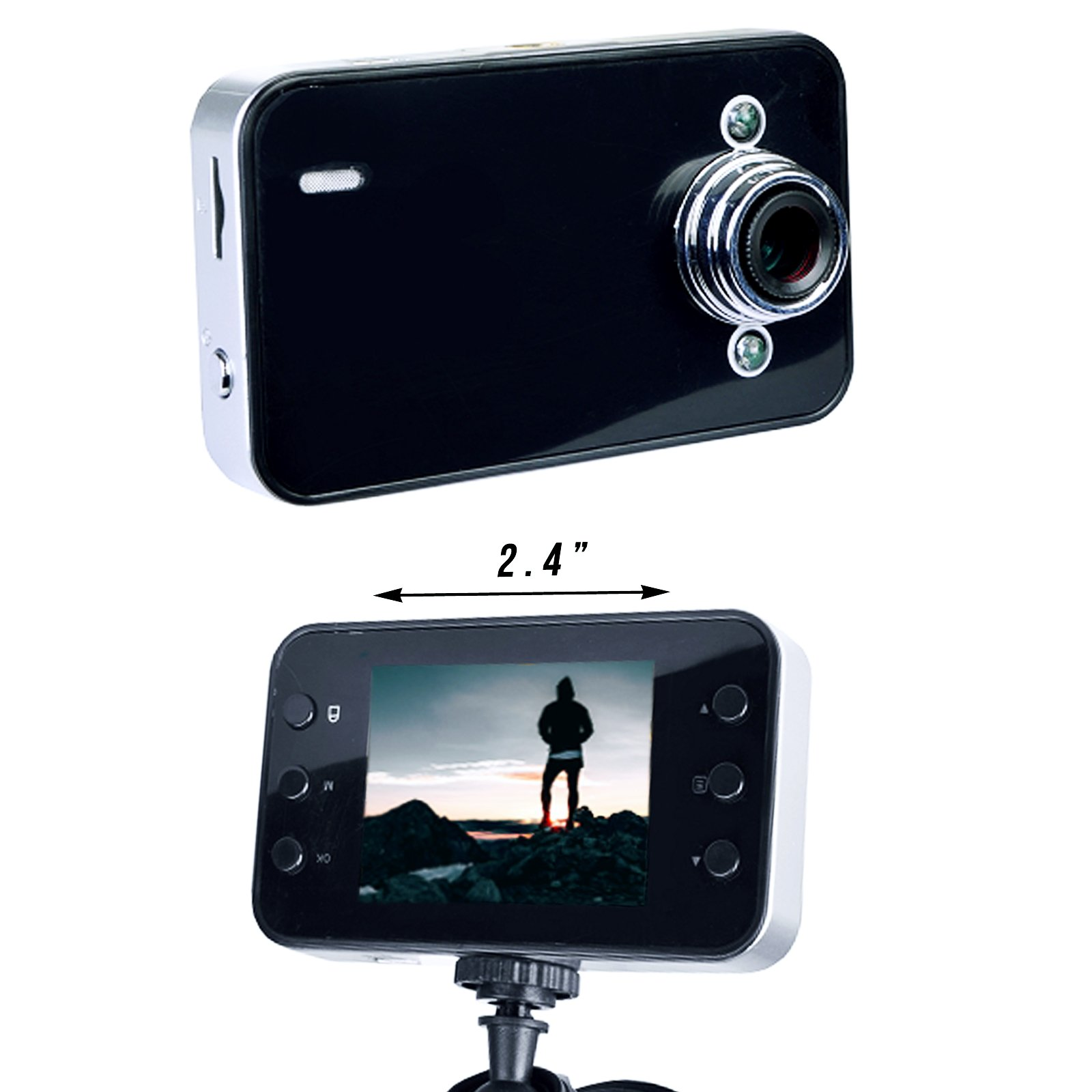 Universal HD 720P Dash Cam Video Driving Recorder DVR Digital Car Camera Device