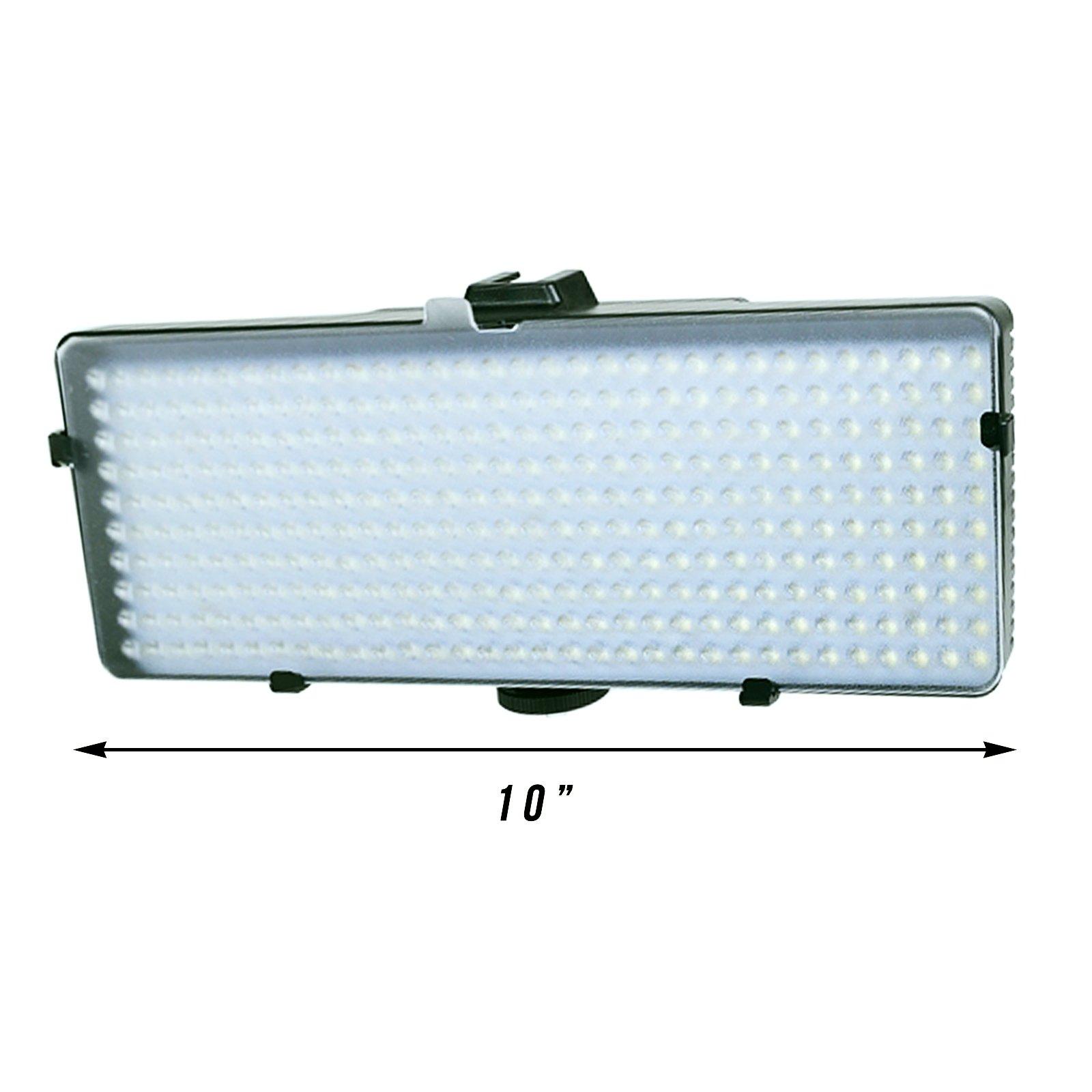 Kodak SL3200 LED Video Light Panel Photography Studio Adjustable Flicker Free