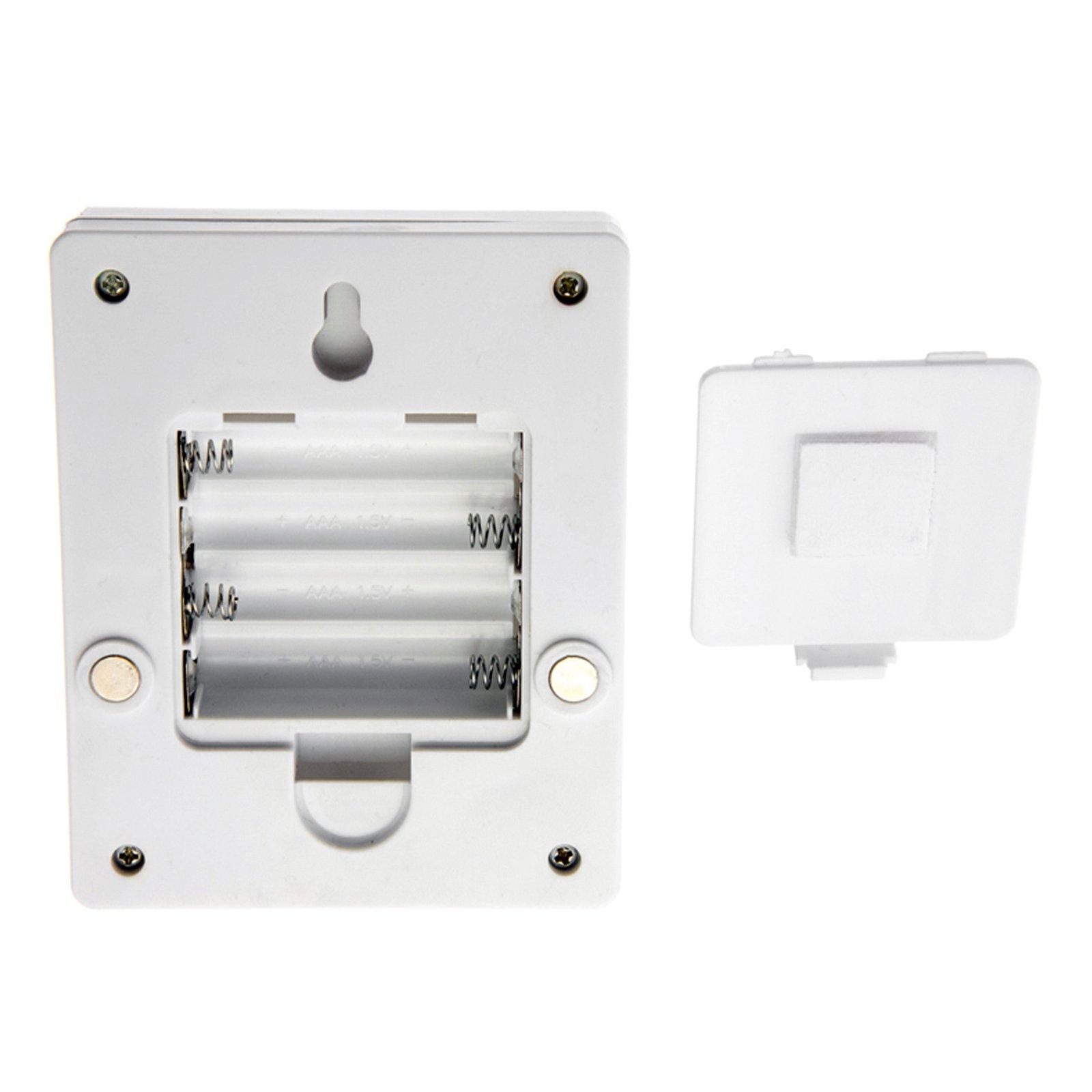 Universal Home 90 Lumen 3 Watt Wall Switch Light with Magnet Adhesive Mounting